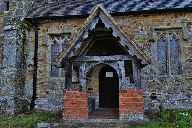 Penhurst Parish Church south porch
