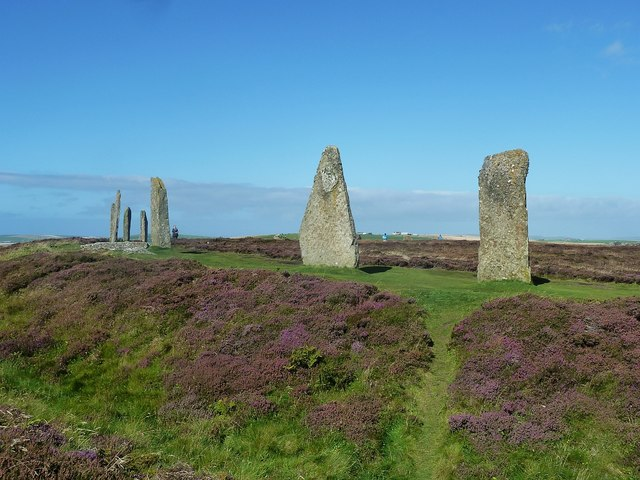 Ring of Brodgar - South-western quadrant