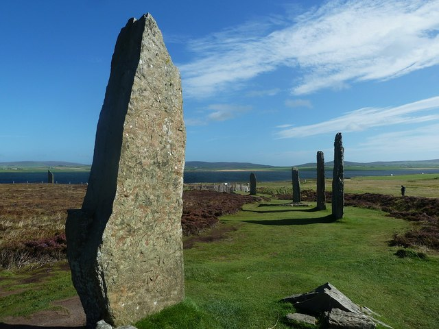Ring of Brodgar - southern section of the ring