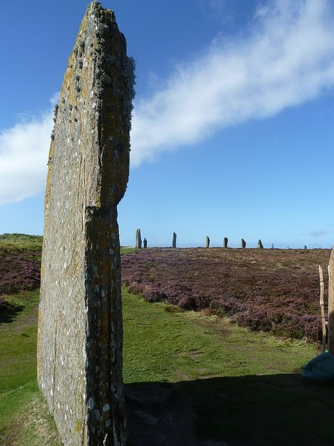 Ring of Brodgar - Standing stones