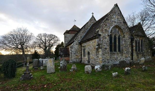 Penhurst Parish Church south eastern aspect