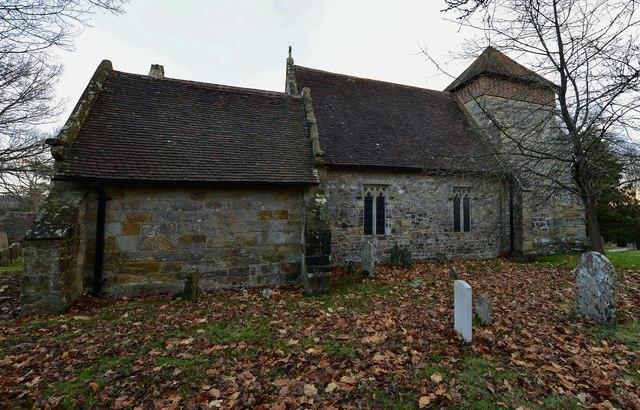 Penhurst Parish Church northern aspect