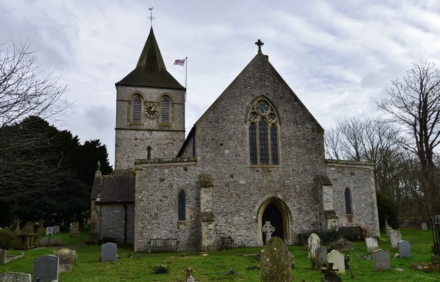 Pevensey, St. Nicholas' Church: Eastern aspect