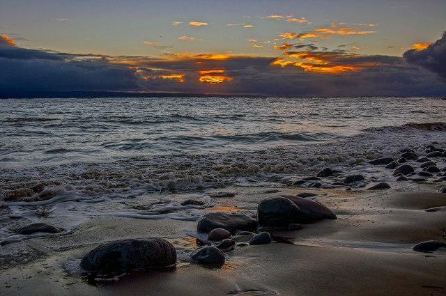 Sunset, Limpert Bay