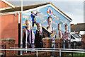 J3574 : Ballymac friendship mural, Belfast (January 2017) : Week 5