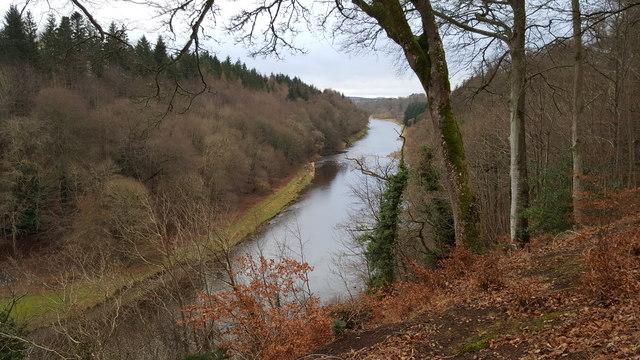 River Tweed near Old Melrose