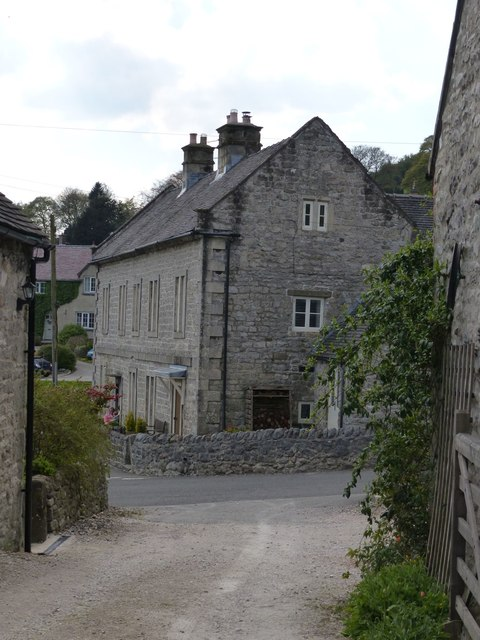 Entering Brassington