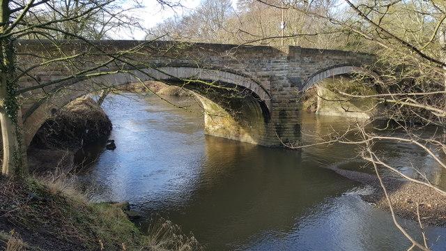 Shincliffe Bridge over the River Wear