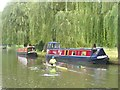 "SU9948 : Guildford - Narrowboat ""Pedestal"" by Colin Smith"