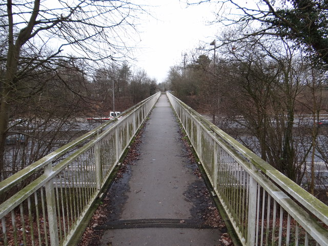 Footbridge over the M40