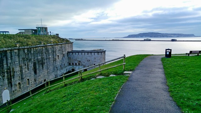 Weymouth: Nothe Fort with views to Portland