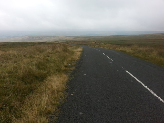 Road east of Shivery Hill