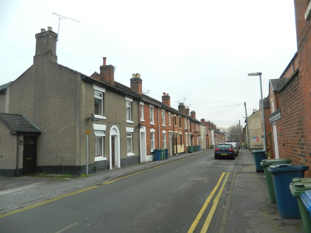 Albert Terrace, Stafford