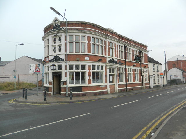 The Four Crosses, Stafford