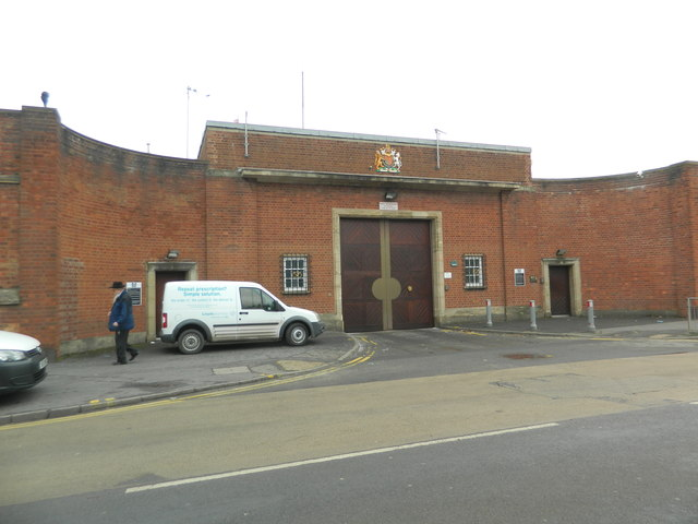 Entrance to H. M. Prison, Stafford