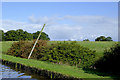 SJ6640 : Towpath and pasture south of Audlem in Shropshire by Roger  Kidd