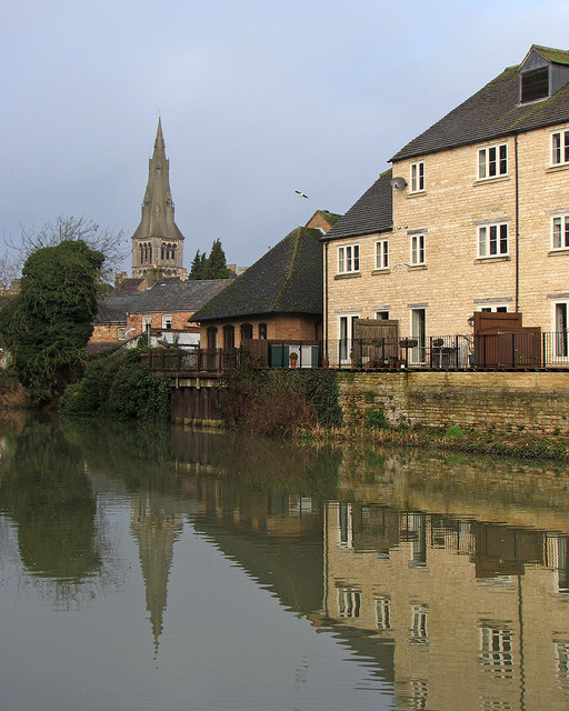 Stamford: Reflections In The Welland © John Sutton