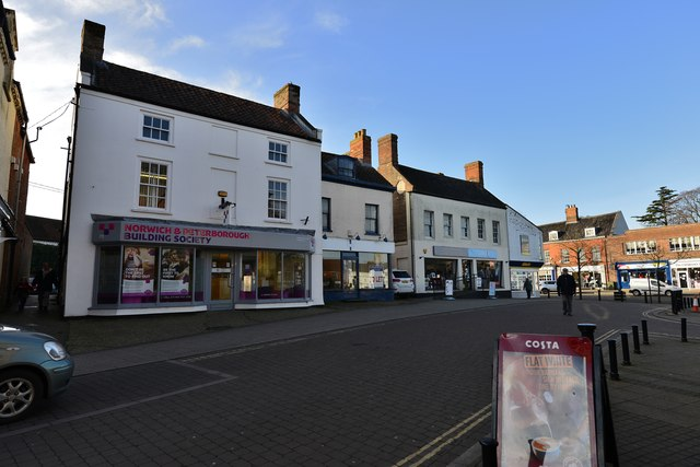 Swaffham: Norwich and Peterborough Building Society