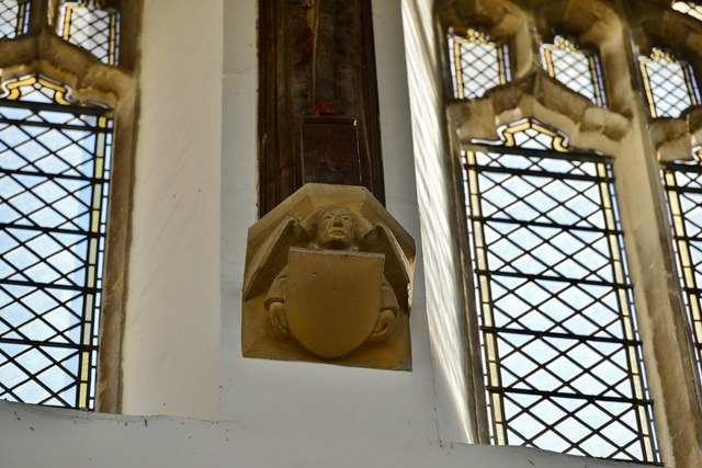 Swaffham, Church of Ss Peter and Paul: Roof corbel 2