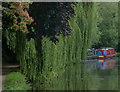 TQ0895 : Grand Union Canal in Watford by Mat Fascione