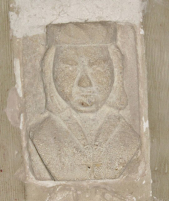 Wotton Church - Stone Head