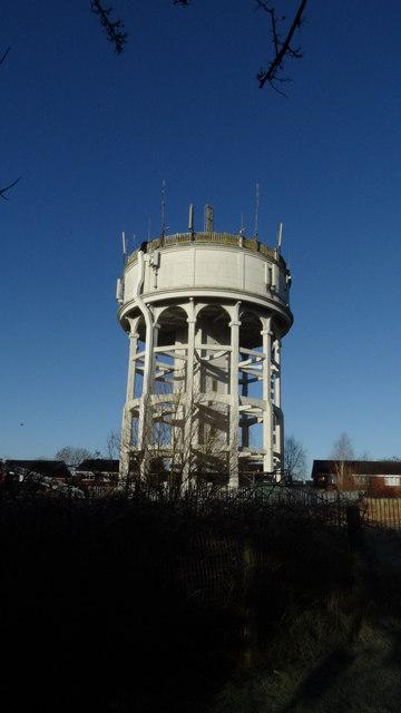 Water tower off Lamberts Ln, Congleton
