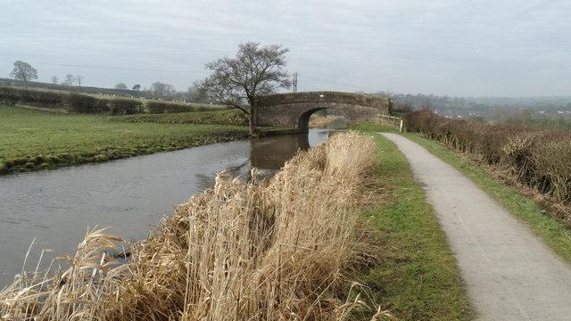 Brick Kiln Bridge No 33 on Caldon Canal near Endon Bank