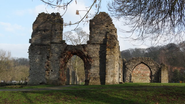 St James Priory ruins at Dudley