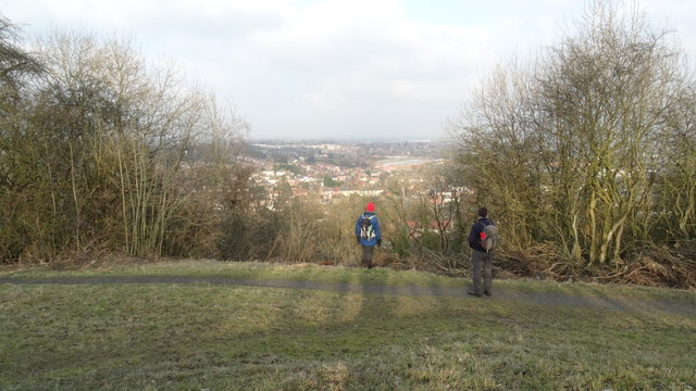 On Mons Hill with view towards Tipton