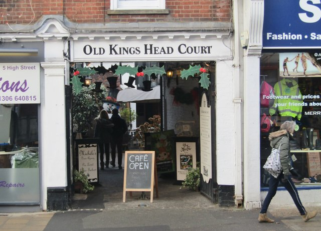 Dorking - Old Kings Head Court