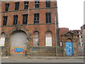 SE3132 : Former Victoria Mill, Atkinson Street, Leeds (3) by Stephen Craven
