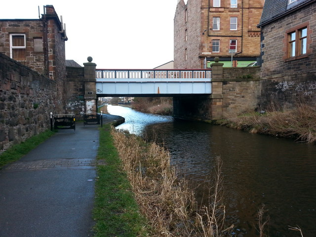 Yeaman Place bridge over the Union Canal, Edinburgh