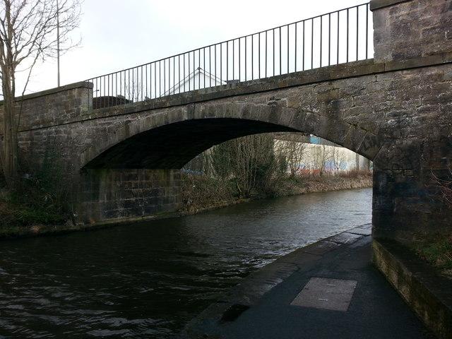 Old canal bridge at Meggetland