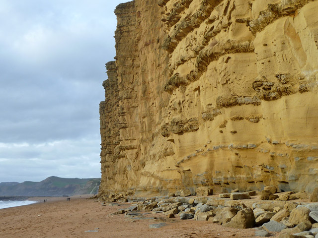 East Cliff, east of West Bay