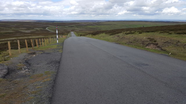 Road at Dead Friar's bank