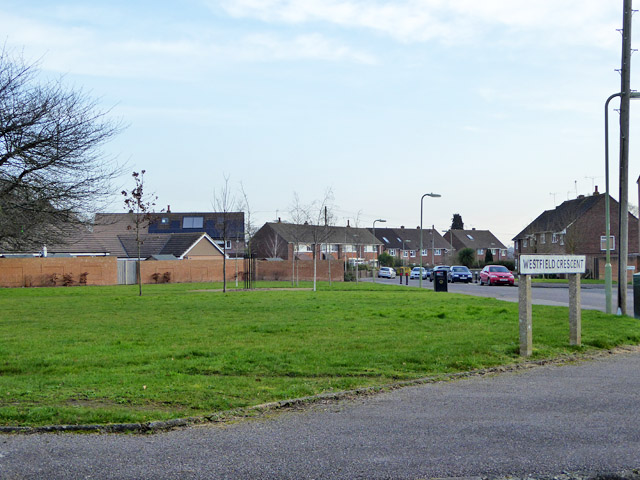 Small green by Westfield Road, Chandler's Ford