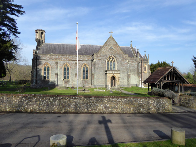 Otterbourne church