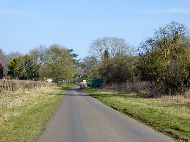 Port Lane approaching Oliver's Battery