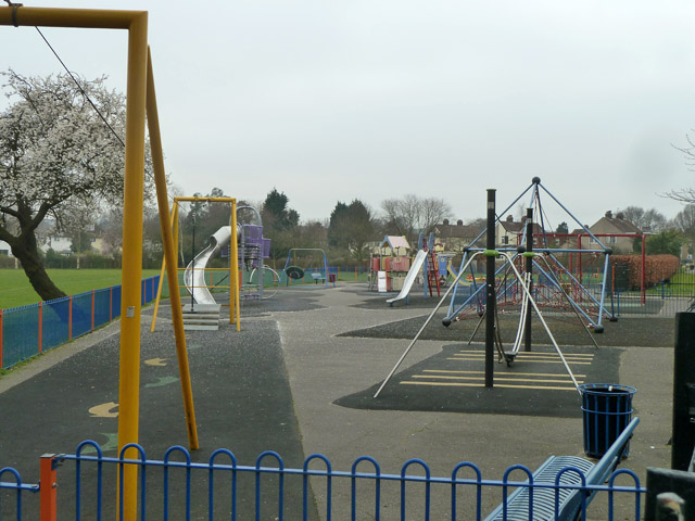 Play area, King George's Field
