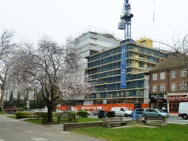 Building under construction, Sidcup