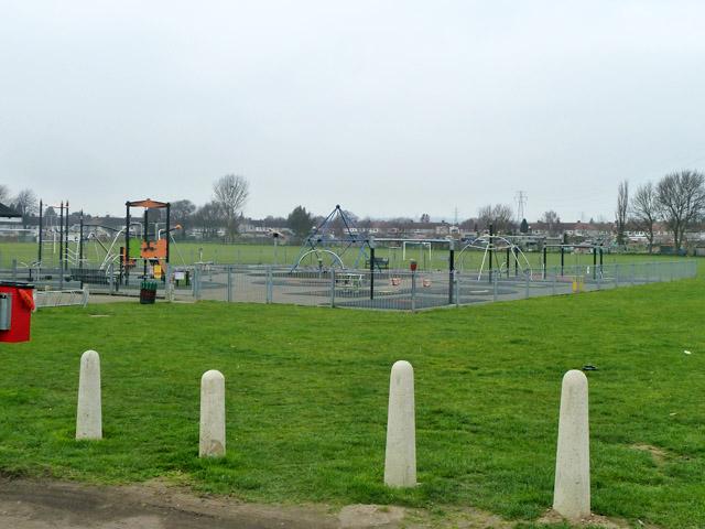Children's play area, Penhill Park