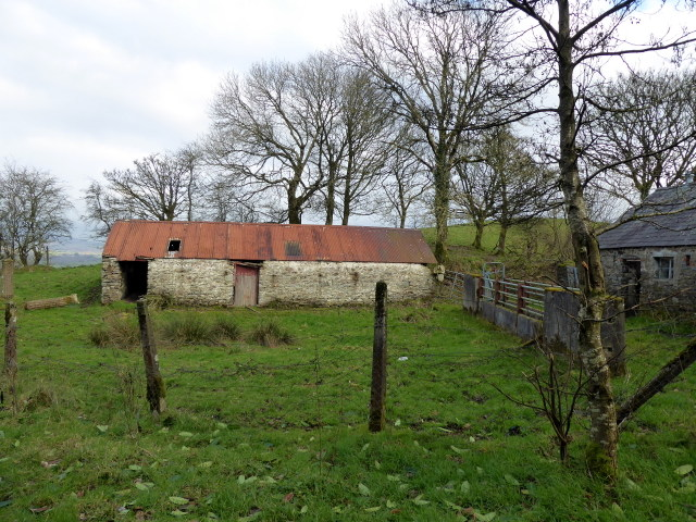 Old farm buildings, Woodbrook