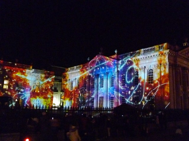 SPIRITUS - LIGHT AND DARKNESS #5 - The Senate House, Cambridge; e-Luminate 2017