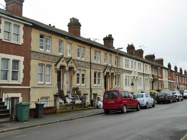 Houses on St. Catherine's Road, Winchester
