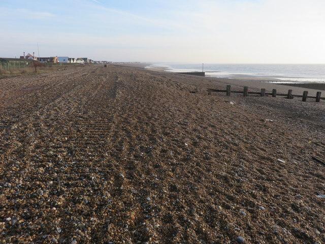 Beach at Pevensey Bay