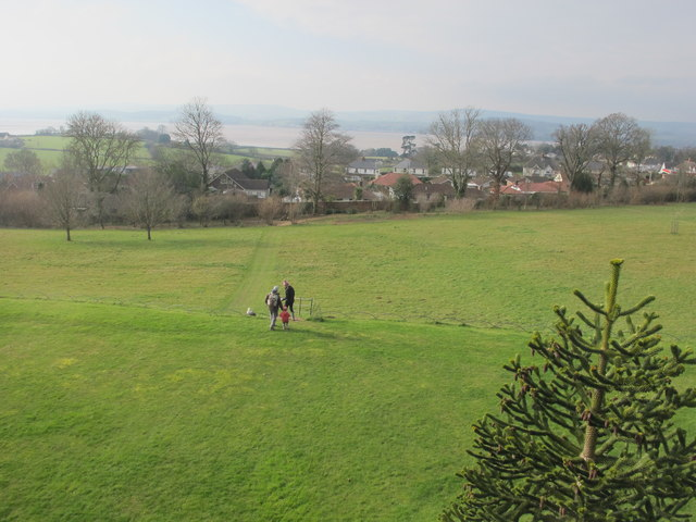 View from A la Ronde to Exe estuary