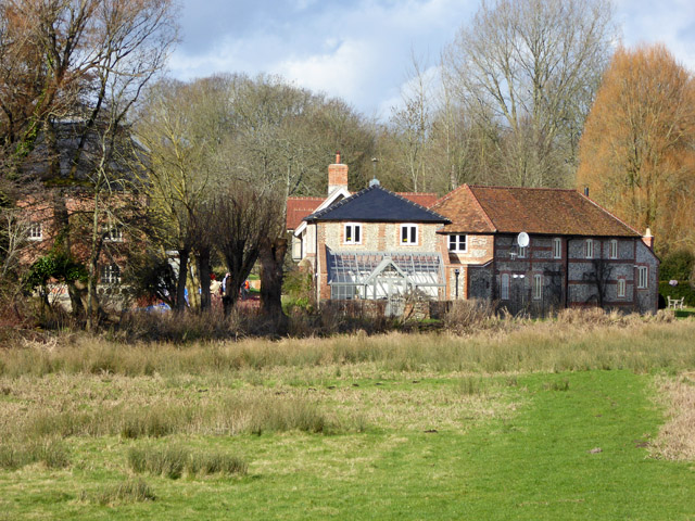 Buildings at St. Cross Mill