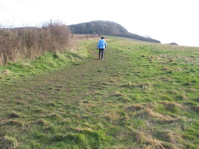 England Coast Path at Salcombe Hill