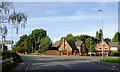 SP4192 : Recent housing in Nutts Lane, Hinckley, Leicestershire by Roger  Kidd