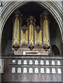TF6119 : Organ, King's Lynn Minster by J.Hannan-Briggs